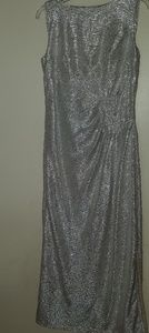Blu Sage metallic gown size 12